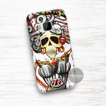 Art Work Troy Lee Design Air Medusa HTC One Case Cover Series