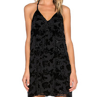 Alice + Olivia Evangelina T-Back Dress in Black