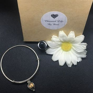 Oval Openwork Aromatherapy Bangle Essential Oil Jewelry +Free Oil