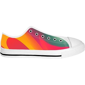 ROLT Orange Green And Red Low Too Shoes