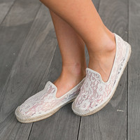 Bella Lace Flats