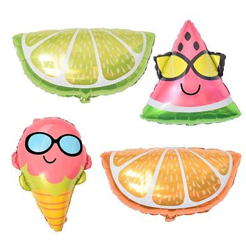 Ice Cream Foil Balloons Party Supplies