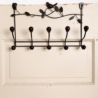 Bird Vine Over The Door Hook
