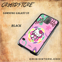 hello kitty 2 For Samsung Galaxy S5 - Gift Present Multiple Choice
