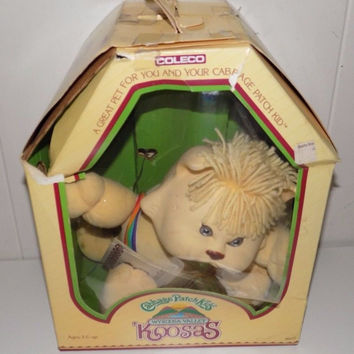 Cabbage Patch Kids Koosas Cat With Box