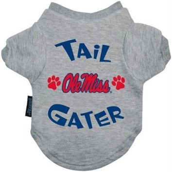 auguau Ole Miss Rebels Tail Gater Tee Shirt