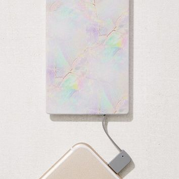 Velvet Caviar Cotton Candy Opal Portable Power Bank | Urban Outfitters