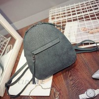 Casual Simple Design Stylish Backpack [6582347207]