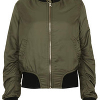Ultimate MA1 Bomber Jacket - Khaki