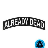 Already Dead Large Back Patch