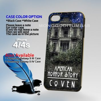 American Horror Story coven, Photo On Hard Plastic iPhone 4 4S Case