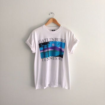 80s 1989 Gatlinburg Tennessee Tshirt