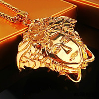 New Arrival Shiny Gift Jewelry Stylish Star Hip-hop Big Size Necklace [6542721923]