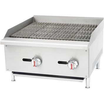 """Commercial Kitchen Gas Char-Broiler Radiant 24"""""""