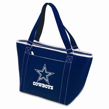 Dallas Cowboys Insulated Navy Cooler Tote