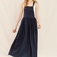 Urban Renewal Remade Overall Dress- Navy
