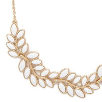 Faux Stone Vine Necklace | Forever 21 - 1000153589