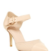 Tailor Perforated Leather Pump