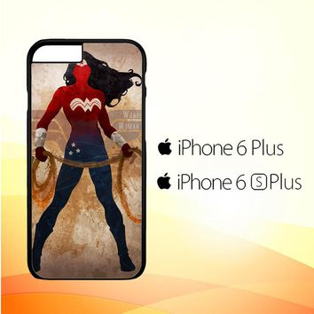 WONDER WOMAN silhouette Y0546 iPhone 6 Plus|6S Plus Case