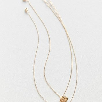 Zodiac Layering Charm Necklace Set   Urban Outfitters