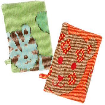 Organic Bath Mitt - Jungle Collection Classic