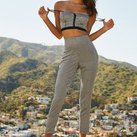 Cooperative Cherriane Gingham High-Rise Pant | Urban Outfitters