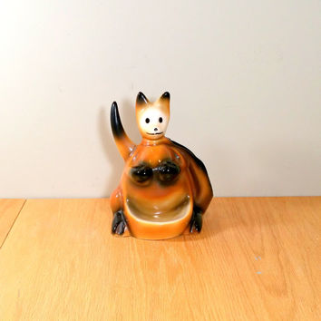 Vintage Kangaroo Mid Century Dresser Valet Gift for Him Novelty 1950s Man Cave Office Decor Pulp Fiction Movie Prop Retro Kitsch Caddy