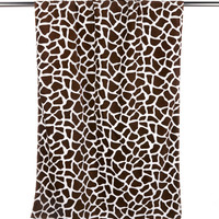 ultraclub velour beach towel - giraffe (one)