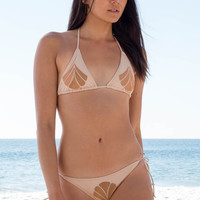 Cali Dreaming - Aries Shell Top | Nude