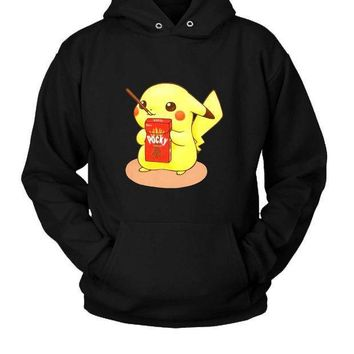 Pocky Pikachu Hoodie Two Sided