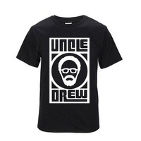 uncle drew T shirt   O Neck brand t shirt Hip Hop Cotton Man Short Sleeve  Cavaliers basketball training suit short-sleeved