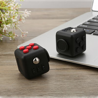 Sale Fidget Cube A Vinyl Desk Toy Anti Irritability to Ease the Pressure to Focus Dice Cube Box for Girl boys Christmas Gift