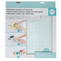 "Precision Tempered Glass Cutting Mat - 14"" x 14"" 