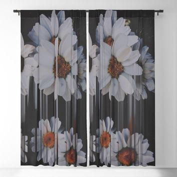 A little pretty, A little Messed up Blackout Curtain by duckyb