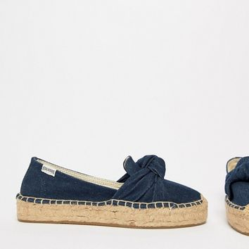 Soludos Knotted Espadrilles at asos.com