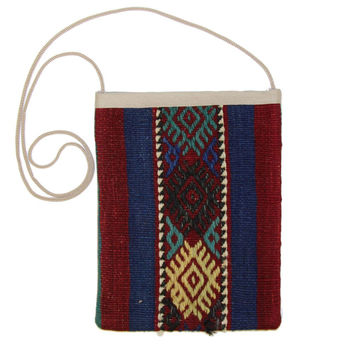 Hilton Multi Striped Pattern Kilim Bag
