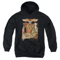AEROSMITH/TOYS-YOUTH PULL-OVER HOODIE - BLACK -