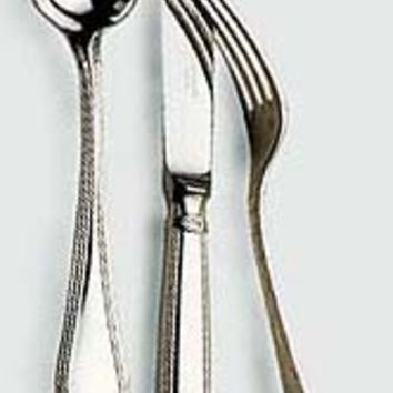 Christofle Sterling Silver Oceana Cream Soup Spoon 1471-001