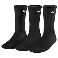 Nike 3 Pack Moisture MGT Cushion Crew Socks - Men's at Champs Sports