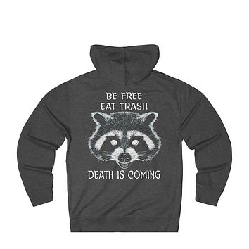 Trash Panda Unisex French Terry Pull Over Hoodie
