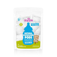 Dapple Dishwasher Pods Automatic Fragrance Free (25 Count)
