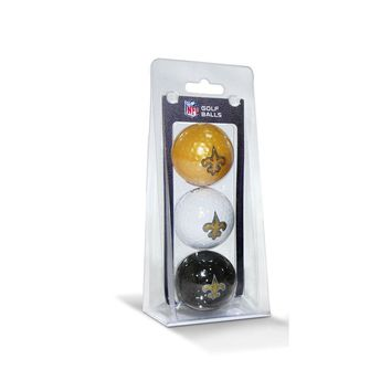 New Orleans Saints NFL 3 Ball Pack