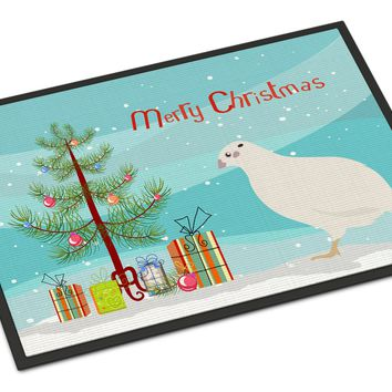 Texas Quail Christmas Indoor or Outdoor Mat 24x36 BB9324JMAT