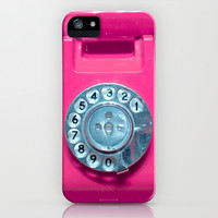 OLD PINK PHONE - Case for IPhone 5/5S by Simone Morana Cyla