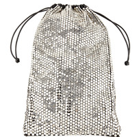 Alexander Wang Ryan Sequined Leather Dust Bag