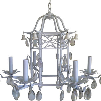 Chippendale-Style Pagoda Chandelier