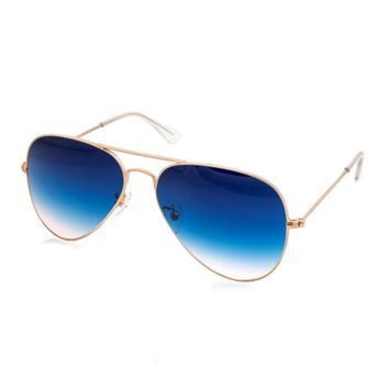 Aqs Unisex Mason Gradient Aviator Sunglasses | Bluefly