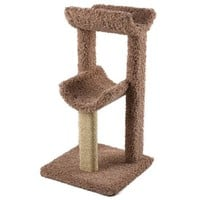 Cat Ware Kitty Tower Scratching Post & Bed Sz: Small
