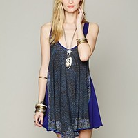 Free People Printed Tunic Slip