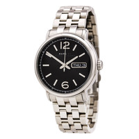 Marc by Marc Jacobs MBM5075 Men's Fergus Black Dial Stainless Steel Watch